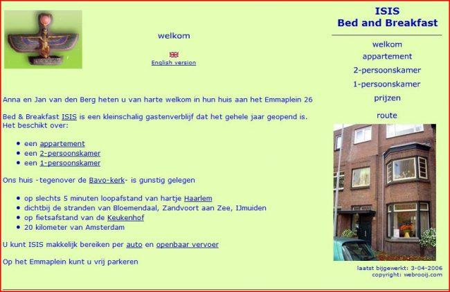 B&B in Haarlem